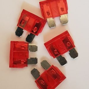 10 amp fuses pack