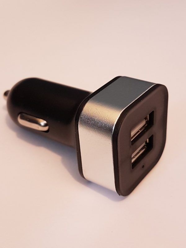 double USB with two outlets