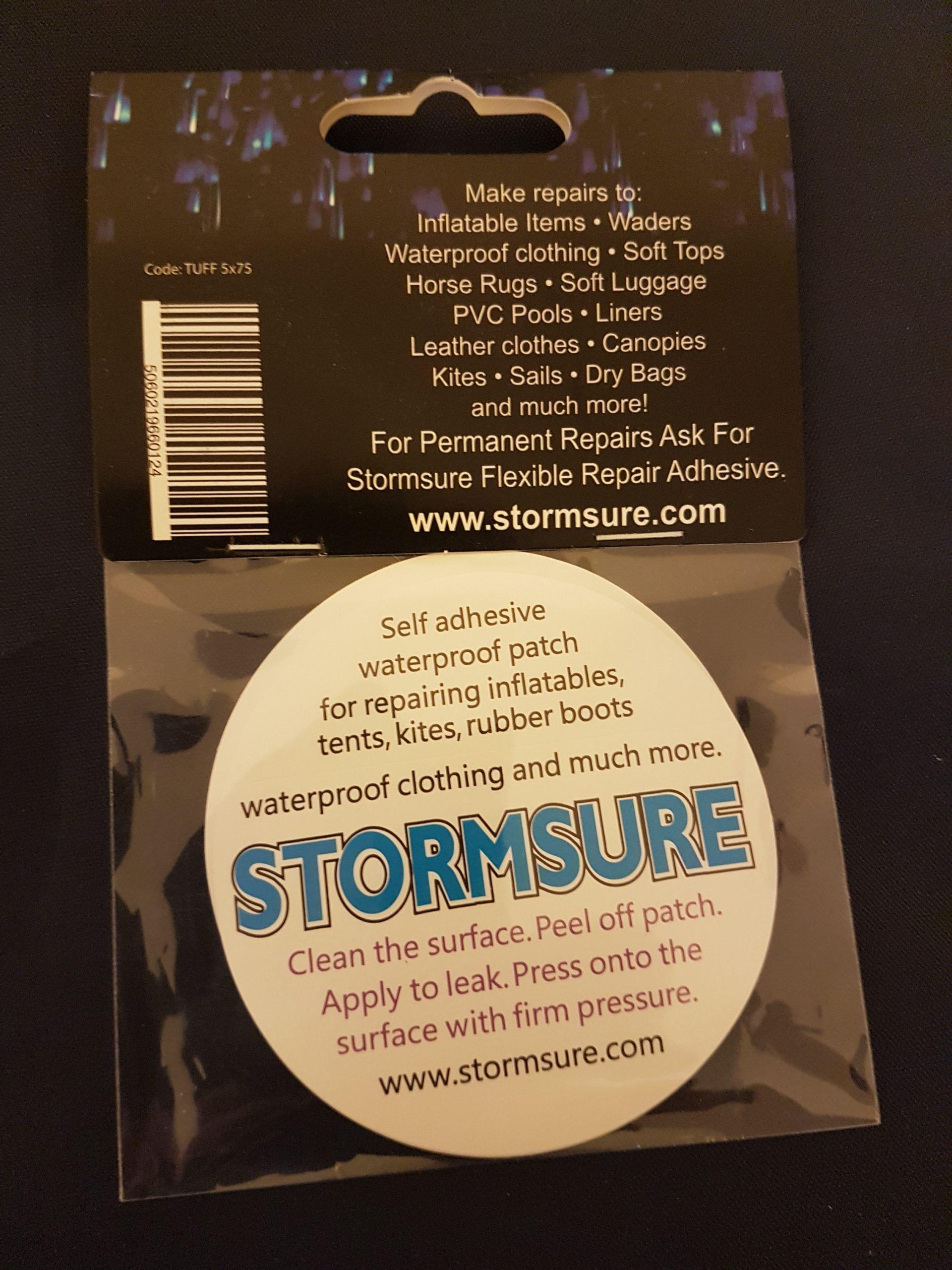 Stormsure Circular Patch Tuff Tape