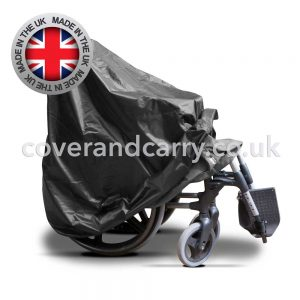 folded wheelchair cover