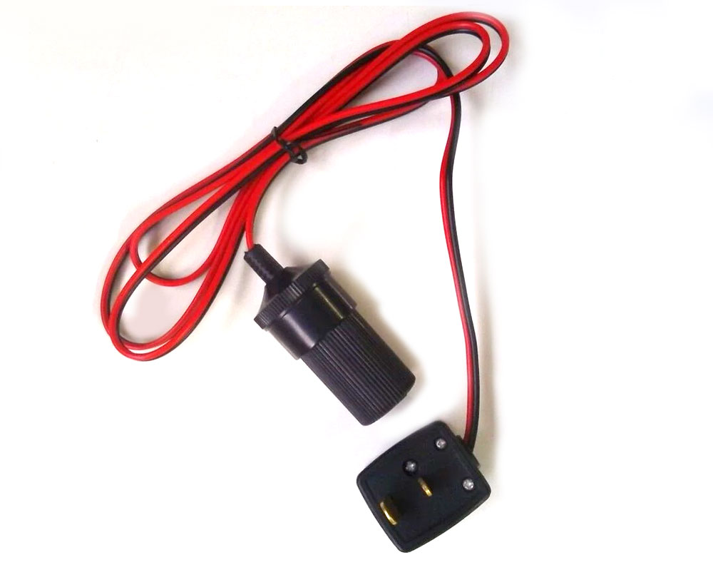 12V Adaptor to 12v Plug for Caravans