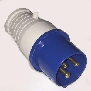 240v mains hook up plug