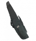 coverandcarry Padded black lined gun bag with additional front pocket
