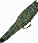 Padded camouflage lined gun bag