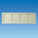 White plastic exterior vent for Hit and Miss 5044.31