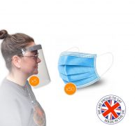 Face Mask and Shield Multi-Pack